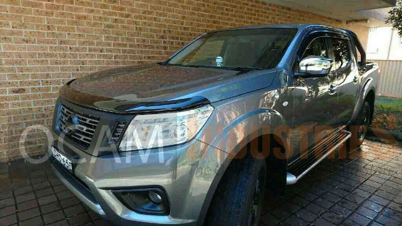 For Nissan Navara Np300 Premium Bonnet Protector Tinted Guard