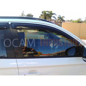 OCAM Bonnet Protector Weathershields For Mitsubishi Outlander ZJ-ZK 12-17 Visors | eBay