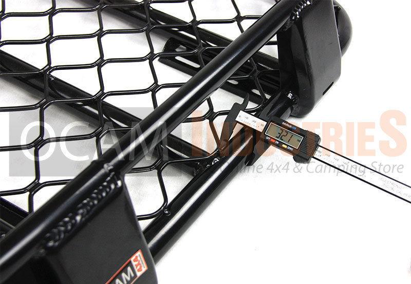 Full Steel Roof Cage Rack 220cm X 125cm Suit Pajero Full