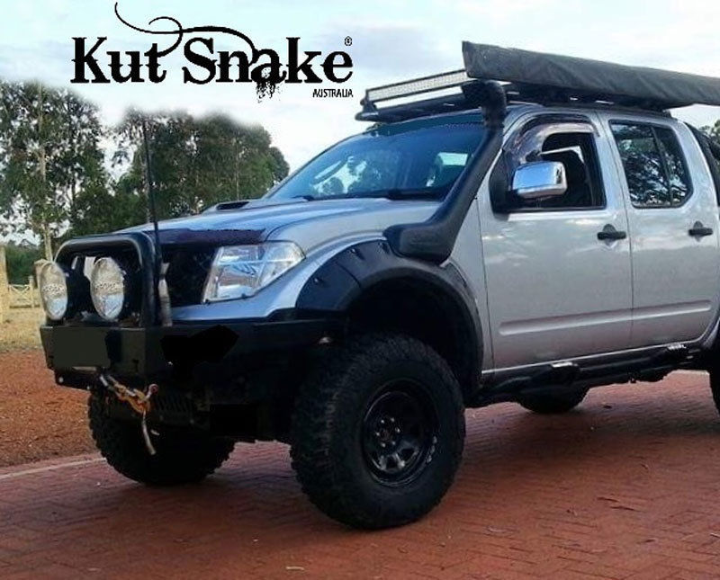 Kut Snake Abs Flares For Nissan Navara D40 Front Wheels