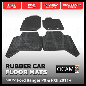 Rock Sliders For Ford Ranger T6 Px 2012 Side Steps 4wd 4x4
