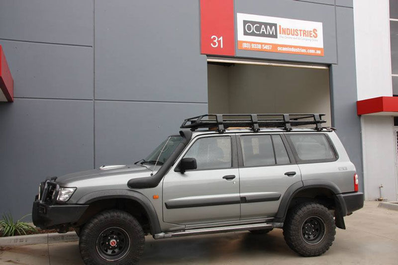Aluminium Roof Rack Amp Awning For Nissan Patrol Gq Gu Amp For