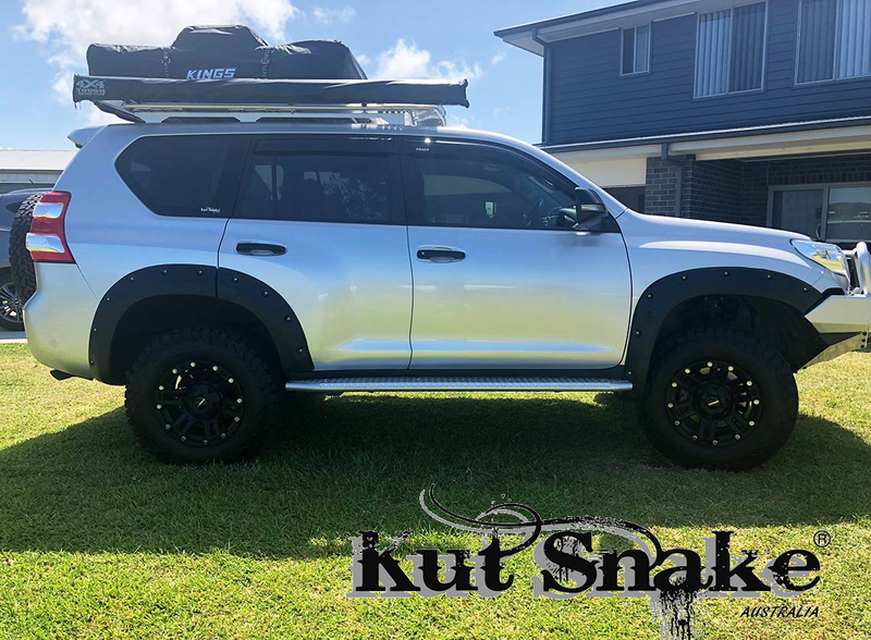 Kut Snake ABS Flares for Toyota Landcruiser Prado 150 Series 2009+