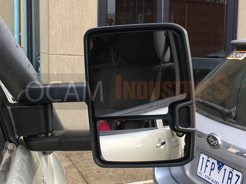 Ocam Extendable Towing Mirrors For Toyota Hilux 2005 2015
