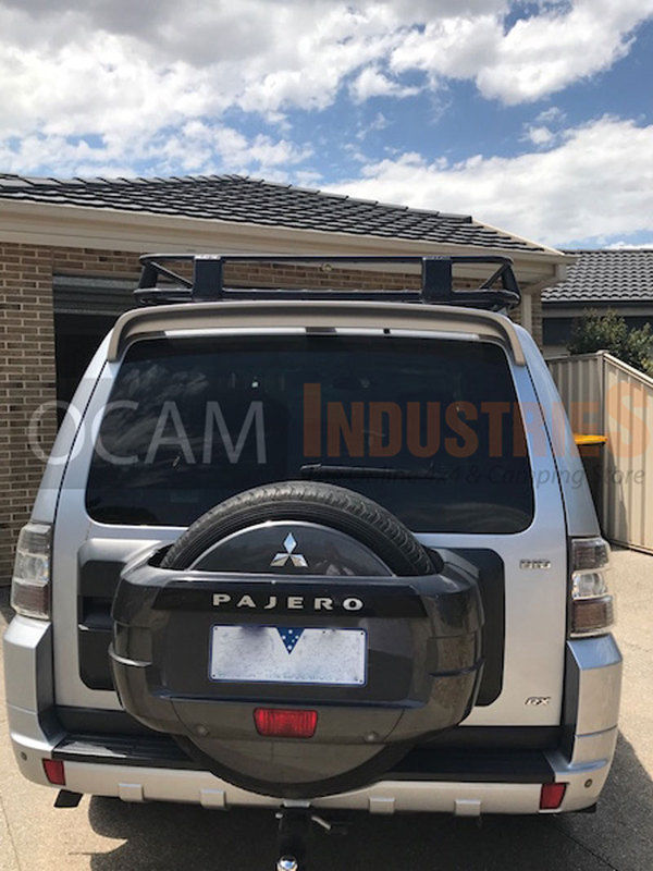 Aluminuim Full Length Cage Roof Rack For Mitsubishi Pajero