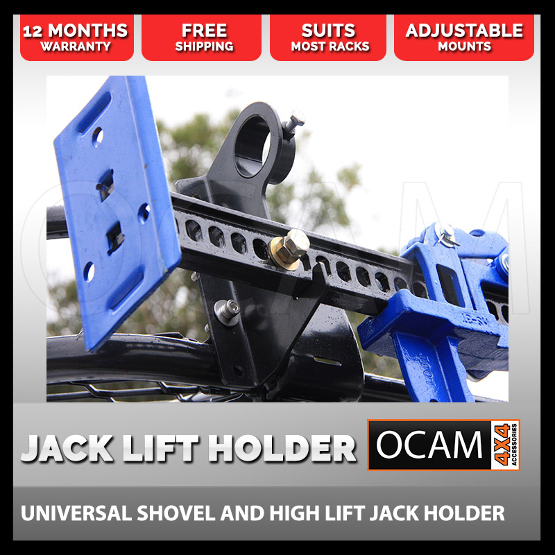Shovel High Lift Farm Jack Holder 4x4 Offroad 4wd Roof
