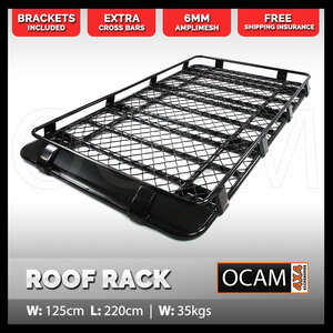 Aluminium Full Length Roof Rack Cage For Toyota FJ Cruiser 2011-2017 Alloy