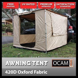 OCAM Awning Tent to Suit 2.5m X 3.0m Awning 4x4 Camping