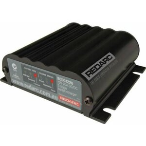 REDARC DC-DC Smart Start Battery Charger 12V 20A BCDC1220 Dual Battery
