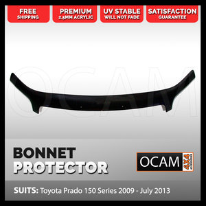 Bonnet Protector for Toyota Landcruiser Prado 150 Series 2009 - July 2013