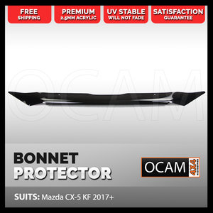 Bonnet Protector for Mazda CX-5 KF 2017 Onwards Tinted Guard CX5