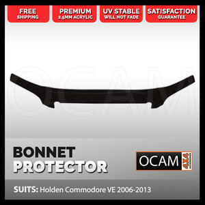 Bonnet Protector For Holden VE Commodore 2006-13 Tinted Guard