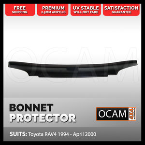 Bonnet Protector for Toyota RAV 4 1994 - April 2000 Tinted Guard