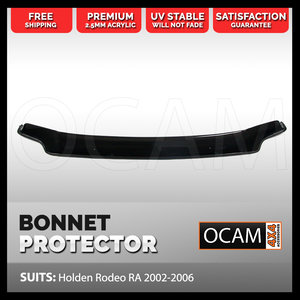Bonnet Protector For Holden Rodeo RA 2002-2006 Tinted Guard