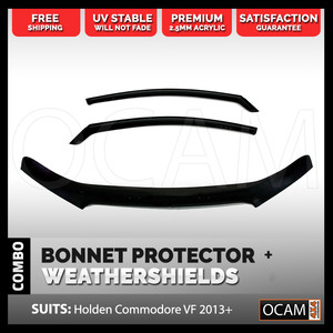 Bonnet Protector, Weathershields For Holden VF Commodore 2013-17 Visors