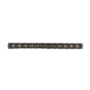 Condor510 Single Square Row 11Inch LED Light Bar 60W 12V/24V LIFE TIME WARRANTY