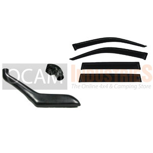 Snorkel, Weathershields For Toyota Landcruiser Prado 120 Series 2002-09 Visors