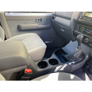 Department of the Interior Full Length Floor Console for Toyota Landcruiser 79 Series Single Cab, (Mid 2016-Current)