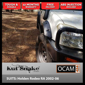 Kut Snake Flares for Holden Rodeo RA 2002-2006 ABS (Code #44/44)