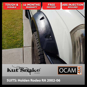 Kut Snake Flares for Holden Rodeo RA 2002-2006 ABS Fronts Only (Code #44)