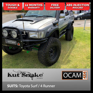 Kut Snake Flares for Toyota Surf / 4 Runner, ABS, Full Set