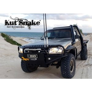 Kut Snake Flares for Nissan Patrol GU Series 1 2 3 Front Wheels, 1997-06 ABS
