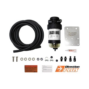 Fuel Manager Pre-Filter Kit For Nissan Patrol GU 2007-18, ZD30, FM619DPK, Passenger's side