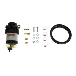 Fuel Manager Pre-Filter Kit - Universal 2Mic Final Filter 8mm Kit, FM705DPK