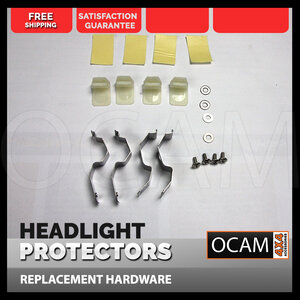 OCAM Replacement Headlight Protector Clips for Holden Commodore VF Models