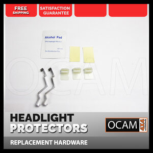 OCAM Replacement Headlight Protect Clips for Nissan X-Trail T32 S1 2014-2017