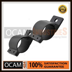 PAIR  BULLBAR MOUNTING BRACKET 66MM SPOT LIGHT