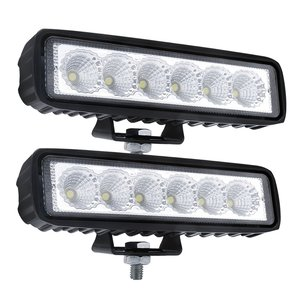 "2 x 6"" inch LED Lights 18 Watts White Spread"