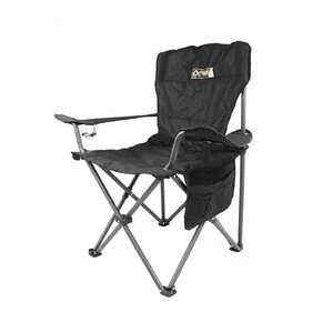 OCAM Camping Chair - Folding Outdoor Camping Chair 4X4 Black Material
