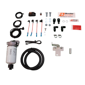 PreLine-Plus Diesel Pre Filter Kit For Toyota 70 76 78 79 Series, 2007-20, Radiator Mount, Water Sensor Alert
