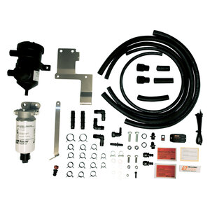 PRELINE-Plus Fuel and PROVENT Oil Catch Can Kit For Nissan Navara D23 NP300, 2015-20