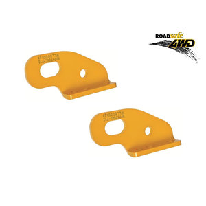 Roadsafe HD Recovery Tow Points For Nissan Navara NP300 D23 PAIR 4WD Rated