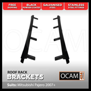 Roof Rack Brackets For Mitsubishi Pajero 2007-Current 4WD 4X4
