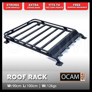 Aluminium Cage Roof Rack for Suzuki Jimny 1000 x 900mm Alloy Basket