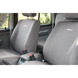 Wetseat Neoprene Seat & Headrest Covers for Toyota Landcruiser 79 Series Dual Cab 10/1999-Current