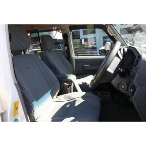 Tuffseat Canvas Seat & Headrest Covers for Toyota Landcruiser 79 Series, Single Cab