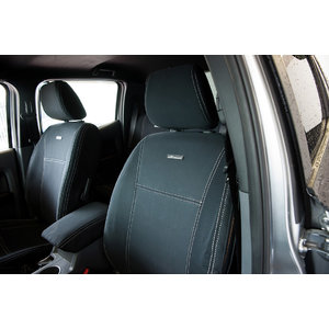 PRE-MADE 1st Row Wetseat Neoprene Seat & Headrest Covers for Ford Ranger PX 07/2011-May 2015