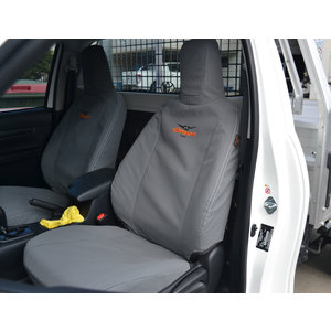 Tuffseat Canvas Seat & Headrest Covers for Ford Ranger PX Dual Cab 07/2011-05/2015