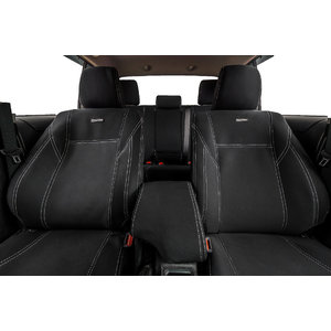 PRE-MADE BUNDLE SPECIAL Wetseat Neoprene Seat, Headrest & Console Covers for Toyota Hilux N80 SR/SR5 Dual Cab 09/2015-Current