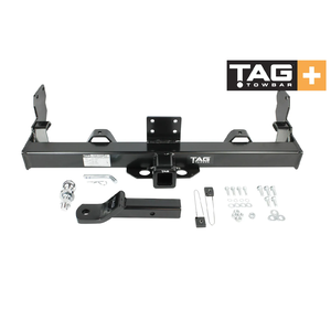 TAG+ Tow Bar for Toyota Landcruiser HJ75 79 Series, Single Cab, 1985-Current, 3500/350kg