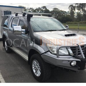 OCAM TM3 Towing Mirrors For Mazda BT-50 2011-Current Chrome, Electric BT50