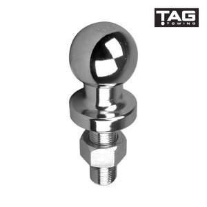 TAG Chrome Tow Ball - 50mm, 3.5 tonne