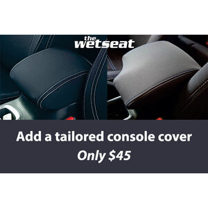 Wetseat Neoprene Tailored Console Cover for Toyota Hilux SR/SR5 Dual Cab 09/2015-Current