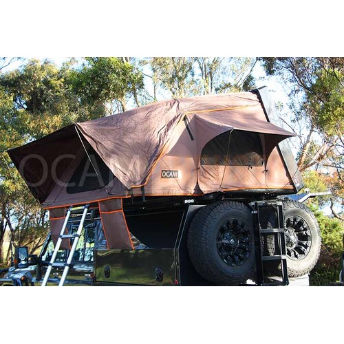 The OCAM Rooftop Tent, Hardshell, King Size 2.1m